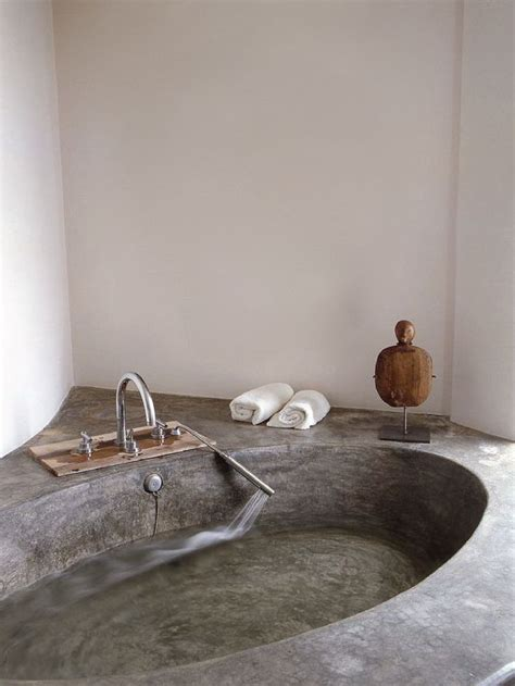 concrete bathtub 5 reasons why you should add tadelakt to the top of your