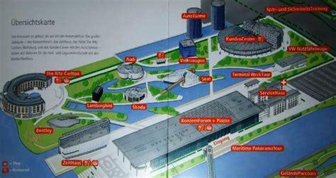 Ffnungszeiten Vw Autostadt by Autostadt Wolfsburg Karte Creactie