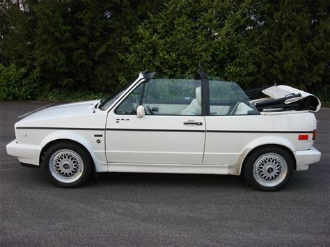 1992 Volkswagen Cabriolet For Sale by Mileage Call Or Email For
