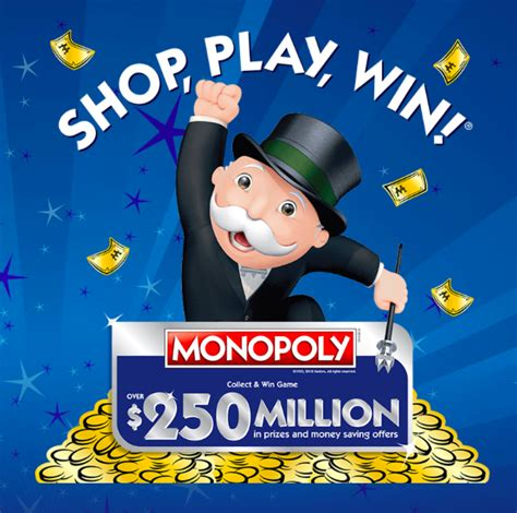 Online Game Code And Sweepstakes Entry - enter shop play win 2018 monopoly albertson s sweepstakes