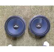 Old School MTX Blue Thunder 12 Inch Subwoofers Auction Is