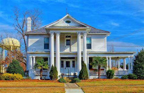 Top Rated Floor Plans another old southern house hdr creme