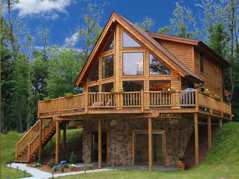 log home interiors log cabin lake house plans inexpensive