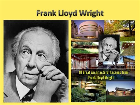 frank lloyd wright influences and stages in career