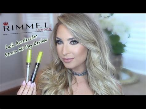 Rimmel Lash Accelerator Serum 30 day review rimmel lash accelerator serum after care
