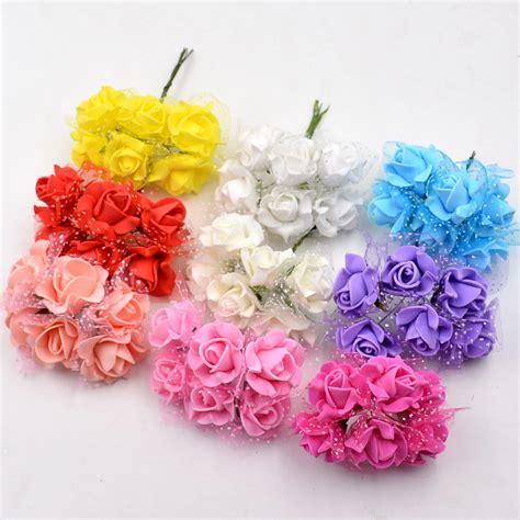 Handmade Products Wholesale - aliexpress buy 144pcs lot 3 cm quot artificial flowers