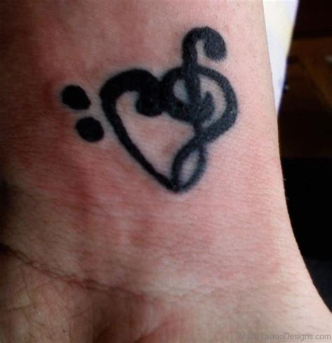 music notes on wrist tattoo 42 tattoos on wrist