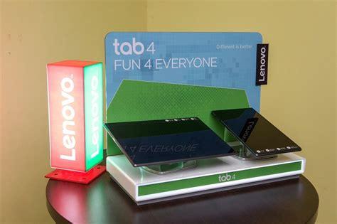 Harga Lenovo Tab 4 10 lenovo tab 4 10 plus dan tab 4 8 dilancarkan di malaysia