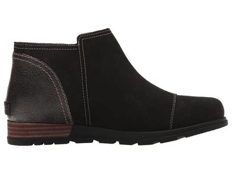 sorel plus major low side zip leather boots 5 50 4 33 3 17 2 0 1 0