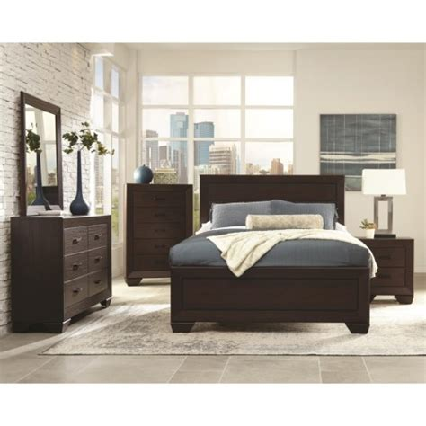 queen bedroom furniture sets on sale contemporary 4pc queen size bedroom set 204391 on sale