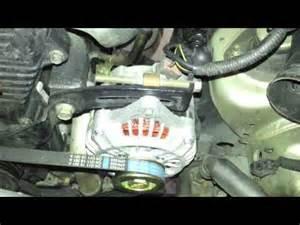 Kia Alternator Problems Alternator Removal Replacement Kia Optima 2001 2006