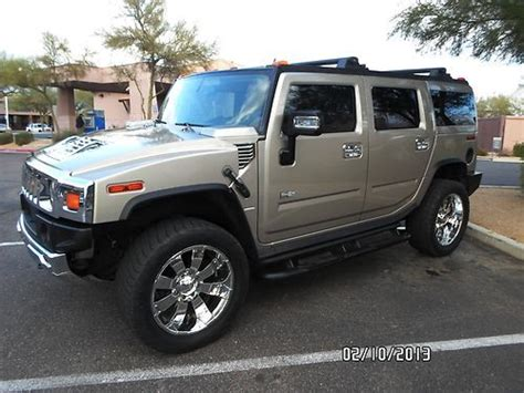 automobile air conditioning service 2006 hummer h2 windshield wipe control buy used 2006 hummer h2 lux pkg w 22 quot chrome rims dvd sunroof sharp h2 in phoenix