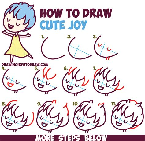 180 inside out step by step guide to turning your diet and around books how to draw kawaii chibi from inside out easy