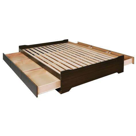 platform bed with drawers canada bedroom beds canada canadahardwaredepot