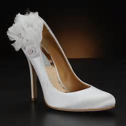 wedding shoes beautiful wedding shoes with flower accents all about shoes accessories