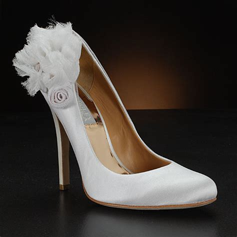 White Wedding Shoes by A Wedding Addict Cinderella White Wedding Shoes