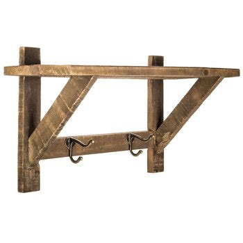 hobby lobby wall shelves wood wall shelf with metal hooks hobby lobby
