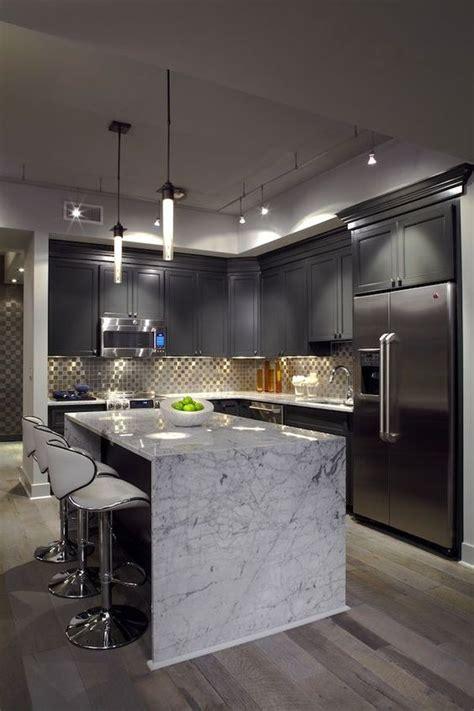 tendencia en decoracion de cocinas  elegantes