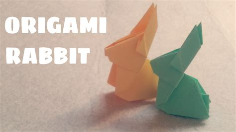 origami rabbit easy origami for origami rabbit origami animals