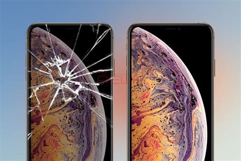 iphone xs xs max broken screen glass repair rewa