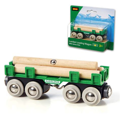 brio compatible brio lumber wagon car car wooden train engine thomas