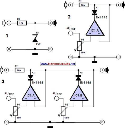 application of zener diode with circuit diagram adjustable zener diode filling diagram