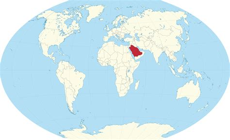 where is saudi arabia on the world map world map saudi arabia location