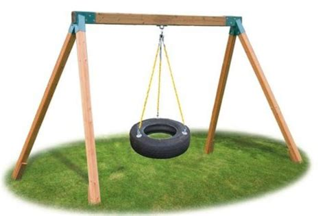 tire swing kits awardpedia eastern jungle gym classic cedar tire swing set