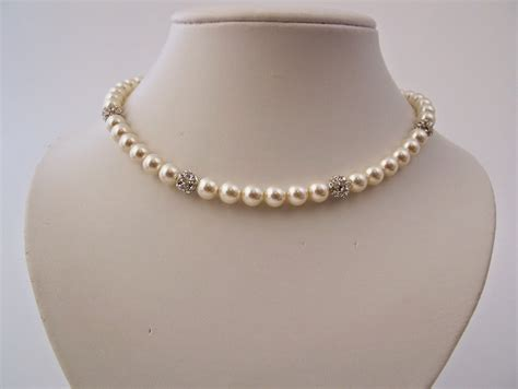 pearl necklaces neclace designs lengths set holder for