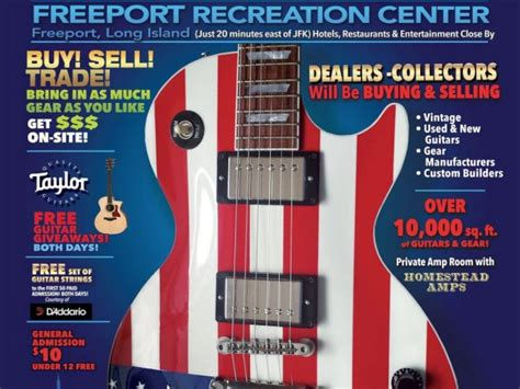 Guitar Center Giveaway 2017 - d addario guitar string giveaway at the 2017 ny guitar show exposition freeport
