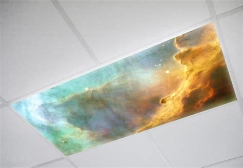 decorative fluorescent light covers astronomy decorative fluorescent light covers octo