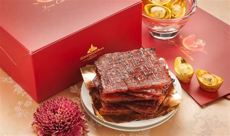 goodwood park hotel new year cookies new year in singapore stock up on bak kwa at