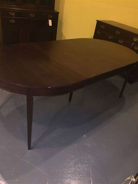 sale antique vintage mahogany henkel harris dining room