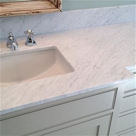 Painted Bathroom Vanity Ideas carrara marble countertops design decor photos
