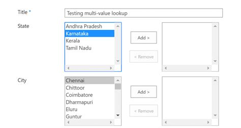 Add Lookup Multi Value Lookup Columns In Sharepoint Explore The