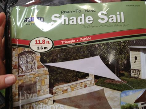Costco Patio Shades by 17 Best Images About Shade Sails On Costco