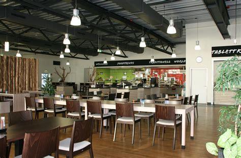 Kitchen Interior Pictures Nattlerarchitekten Company Canteen In Essen