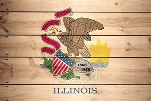 illinois state colors flag of illinois wood texture it for free