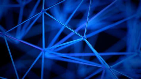 abstract geometric pattern blue digital art abstract pattern cgi 3d geometry