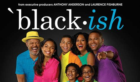 black tv series black ish first look promotional poster