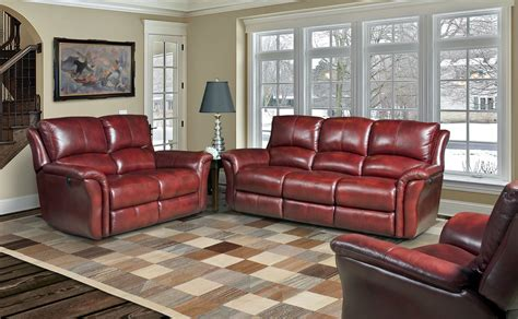 Lewis Lipstick Dual Power Reclining Living Room Set From Lewis Living Room Furniture