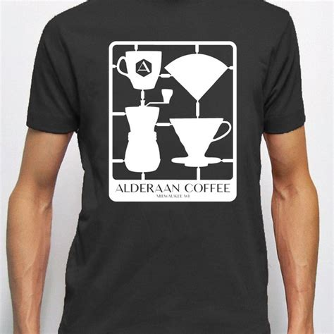 coffee shop t shirts design snap together coffee t shirt alderaan coffee