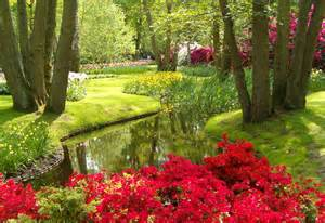Colorful Garden Flowers The Keukenhof World S Largest Flower Garden Travel Around The World Vacation Reviews