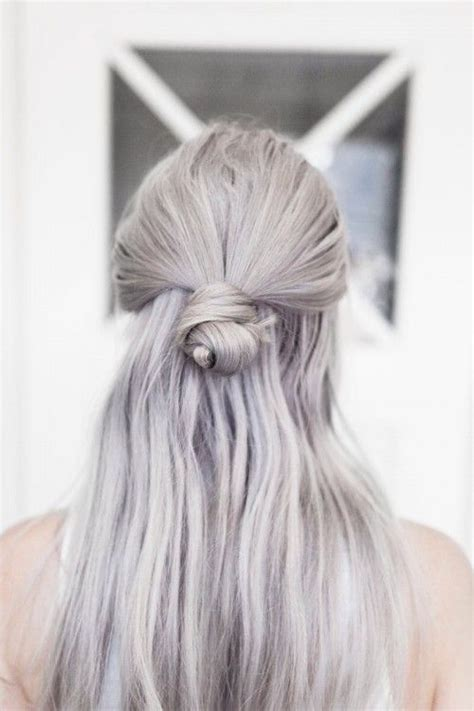 silver color hair toner grey with purple toner dyed hair pinterest silver