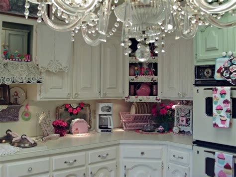 romantic kitchen penny s vintage home romantic kitchen tour