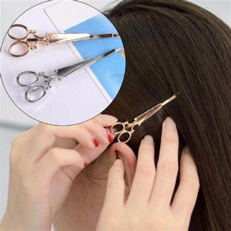 Jepit Rambut Lucu jepit rambut lucu model gunting golden jakartanotebook