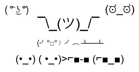 Text Faces Meme - a complete guide to text emoticons weknowmemes