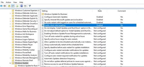 wsus group policy settings  deploy updates windows os hub