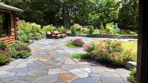 patio and garden ideas patio and stone wall by steven breed garden designs using