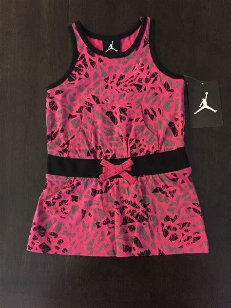 Nike Freyza Pink nwt nike air baby pink black gray sun dress